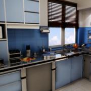 2016精美的欧式大户型厨房装修效果图欣赏