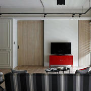 公寓隐形门设计