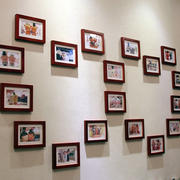 别墅简约系列照片墙设计效果图