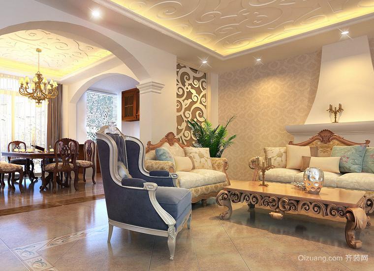 100平米唯美大户型简欧风格卧室装修效果图