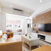 公寓客厅电视背景墙