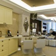 90平米大户型简欧风格厨房装修效果图鉴赏