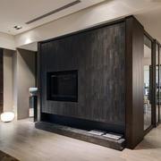 190平米现代主义风格家居电视柜设计图