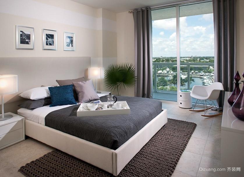 单身公寓现代主义风格卧室设计效果图