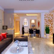 100平米房屋现代简约风格客厅设计