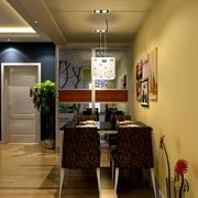 小户型都市风格餐厅装修效果图