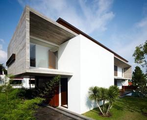 现代主义风格200平米别墅设计效果图