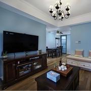 室内客厅实木电视柜
