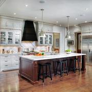 现代主义风格复式楼厨房设计效果图