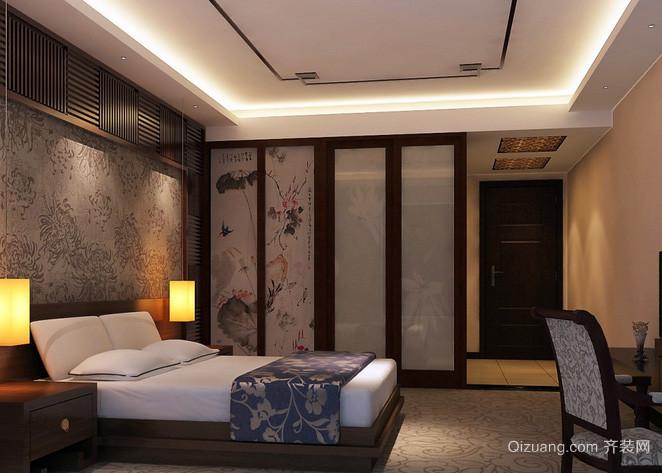 小型现代简约风格宾馆装修效果图