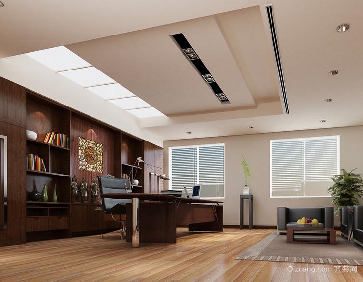 现代都市精致的办公室装修效果图实例欣赏