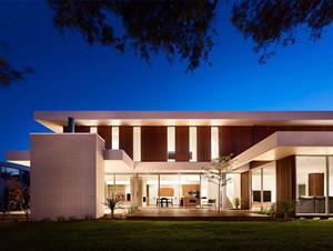 大户型独栋别墅现代主义风格设计效果图