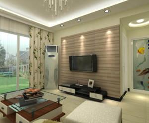 2016现代欧式大户型室内客厅装修效果图大全