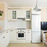 128平米轻快风格厨房装修效果图