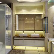 复式楼简欧风格卫生间装修效果图