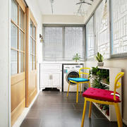 别墅创意型阳台装修效果图