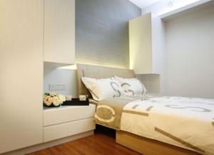 70平米小户型现代主义风格卧室装修效果图鉴赏