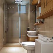 别墅简约风格卫生间装修效果图