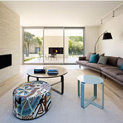 别墅现代主义风格客厅设计效果图