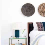 室内卧室床头装饰