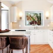 138平米中式风格厨房装修效果图