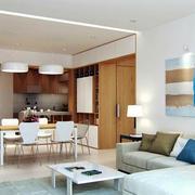 100平米房屋日式简约风格客厅装饰
