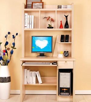 小户型北欧风格简约卧室台式电脑桌装修效果图