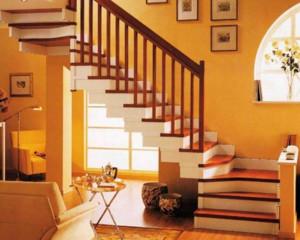 2016小户型现代欧式室内楼梯设计装修效果图鉴赏