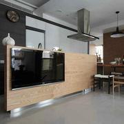 现代简约风格创意电视背景墙装饰