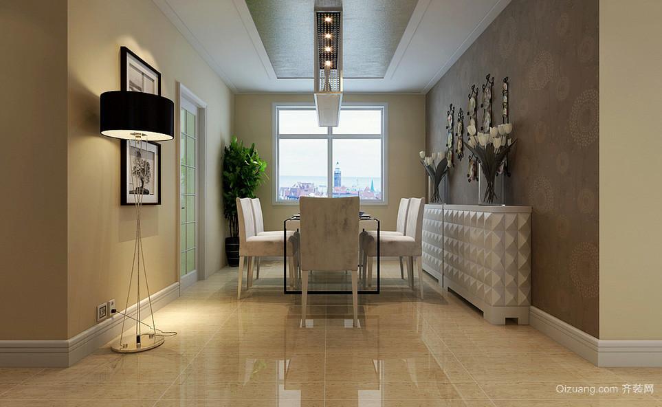 160平米现代主义风格家居餐厅设计效果图