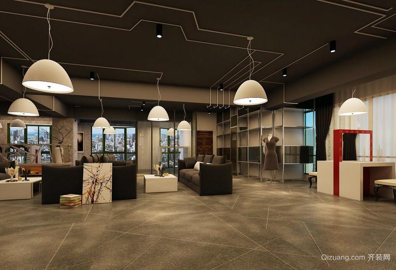 loft风格100平米影楼装修设计效果图