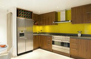 单身公寓欧式风格厨房装修效果图