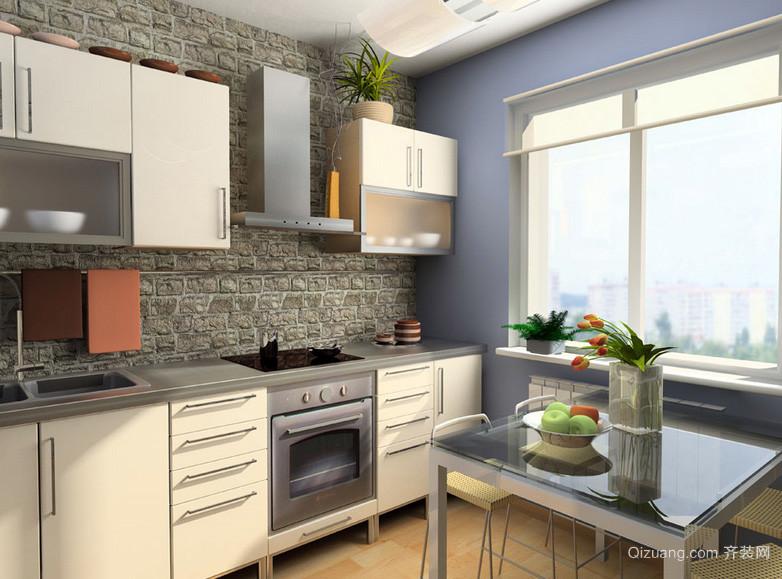 128平米简朴型厨房装修效果图