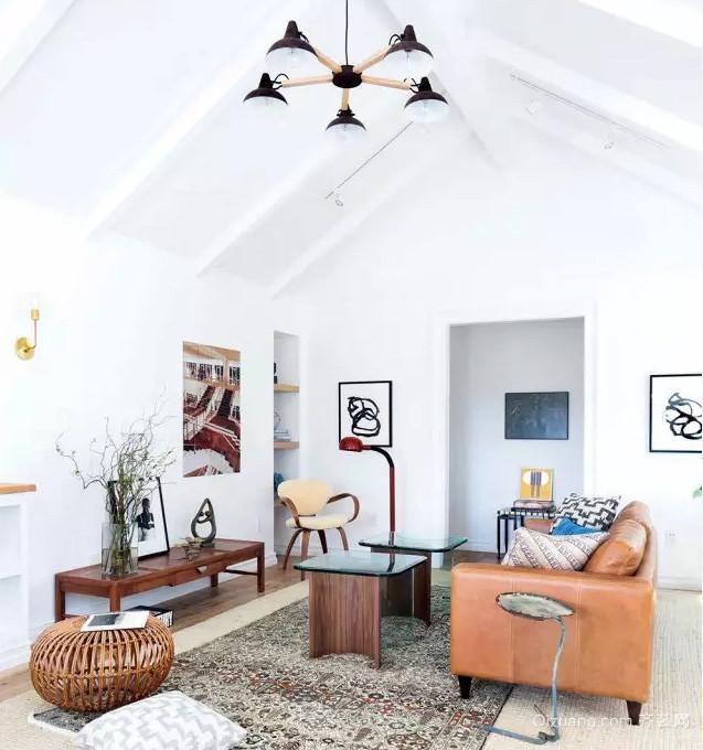 北欧风格小户型阁楼室内装修效果图