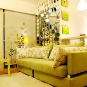 韩式清新风格交互空间客厅装修效果图