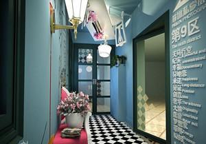 小型精致影楼室内装修设计效果图