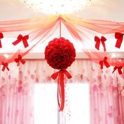 粉色调婚房效果图片