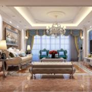 2016现代精致的优雅小公寓客厅装修效果图