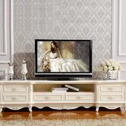 欧式90平单身公寓卧室电视柜装修效果图