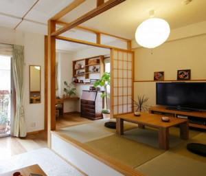 优雅舒适的日式风格大户型榻榻米装修效果图