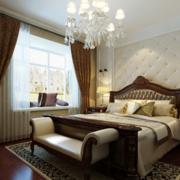 2016大户型舒适独特的欧式卧室装修效果图