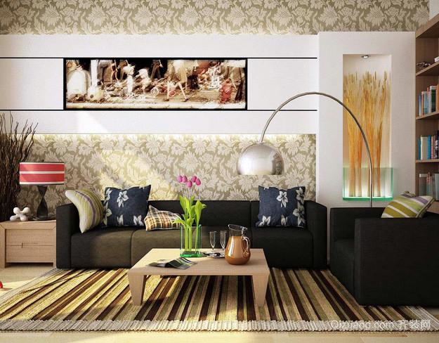 120平米别墅欧式奢华客厅装修效果图