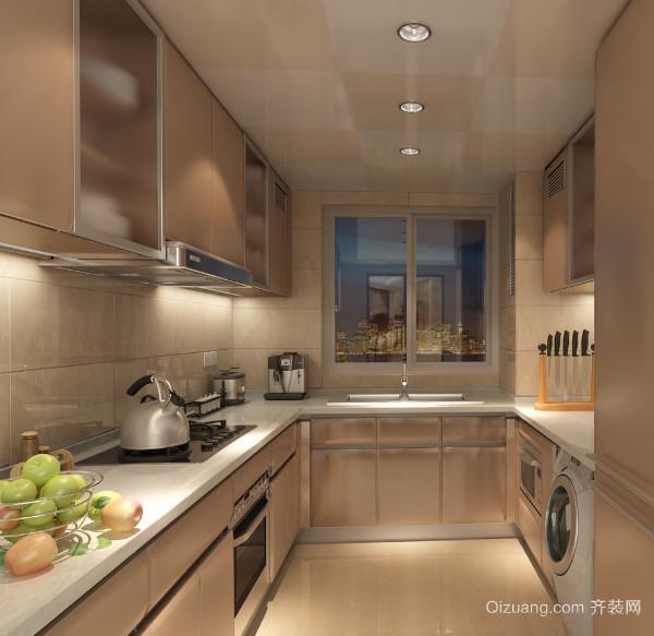 2016小户型唯美的欧式厨房装修效果图实例