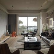 90平米loft风格交互空间客厅装修效果图