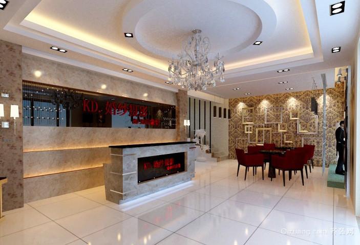 80平米现代简约风格新房客厅装修效果图