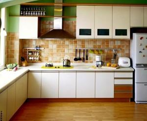 简约温馨14平米厨房收纳装修效果图