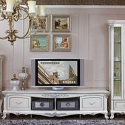 典雅欧式别墅客厅电视柜装修效果图