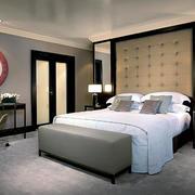 小户型2016新款卧室背景墙装修设计效果图