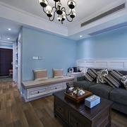 室内客厅地台设计