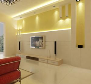 120平米欧式大户型电视墙背景足彩导航效果图